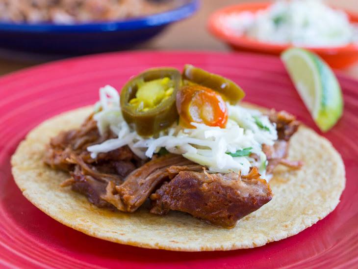 Pressure Cooker BBQ Pulled Pork Tacos Recipe