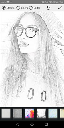 Pencil Photo Sketch-Sketching Drawing Photo Editor 1.4.4 screenshots 1