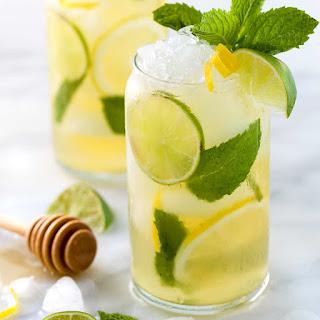 Iced Green Tea with Lime, Lemon & Honey Recipe