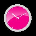 Pink Analog Clock icon