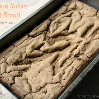 Cinnamon Raisin Yeast Bread.