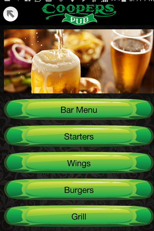Coopers Pub- screenshot