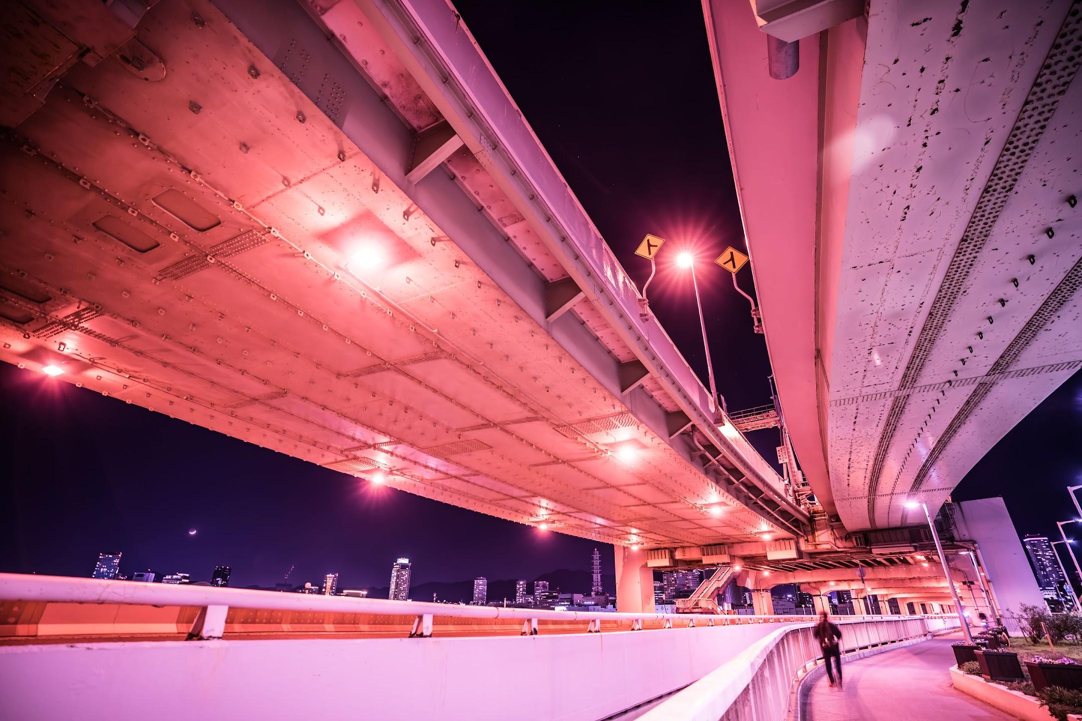 Kobe Great Bridge night4