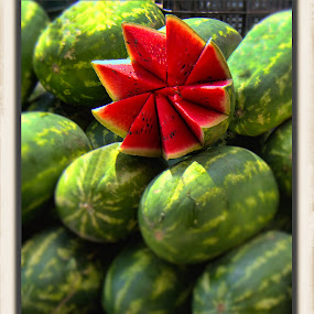 watermelon, mexico by Jim Knoch - Food & Drink Fruits & Vegetables
