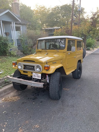1977 Toyota Land Cruiser FJ40 Hire Austin