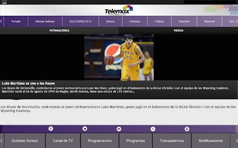 Telemax Sonora screenshot 11