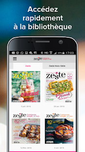Zeste - Magazine- screenshot thumbnail