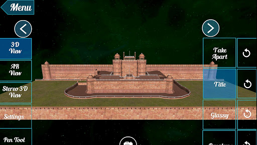 Red Fort 3D