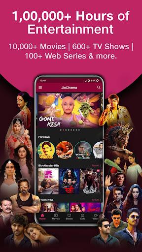 JioCinema: Movies TV Originals screenshot 1
