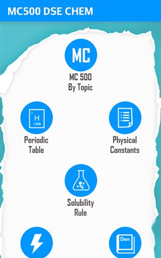 MC500 DSE CHEM