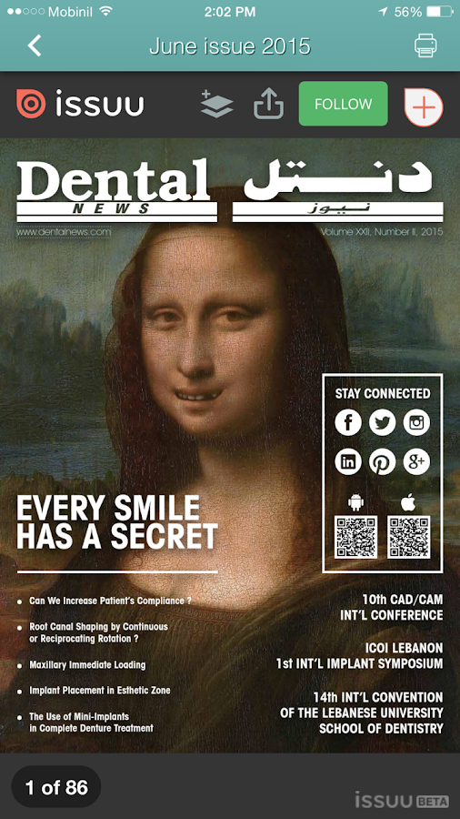 Dental News- screenshot