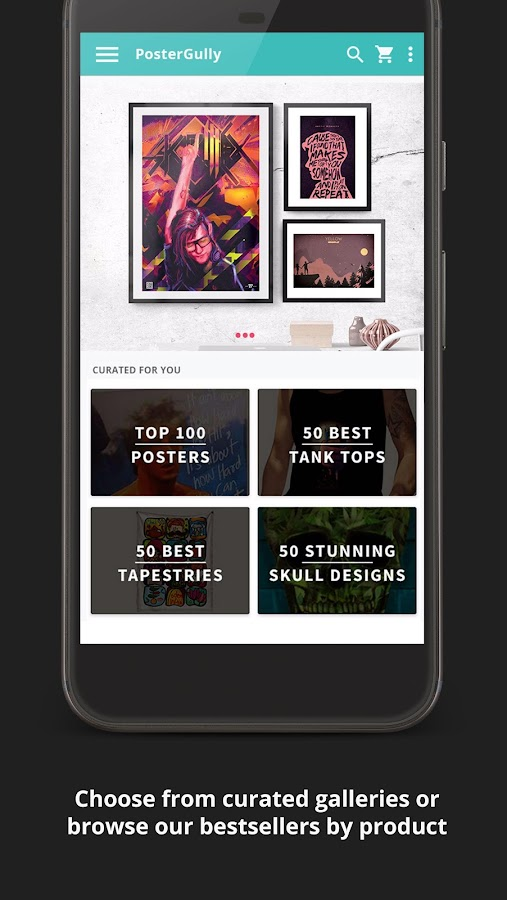PosterGully - Designer Shops- screenshot