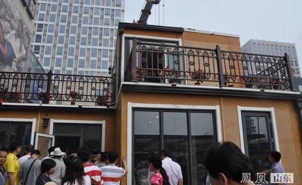 Китайская компания ZhuoDa построила 3D-печатную двухэтажную виллу