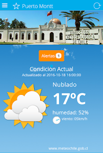 MeteoChile screenshot 3