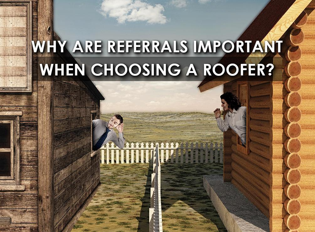 Choosing a Roofer