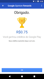 Google Opinion Rewards: miniatura da captura de tela