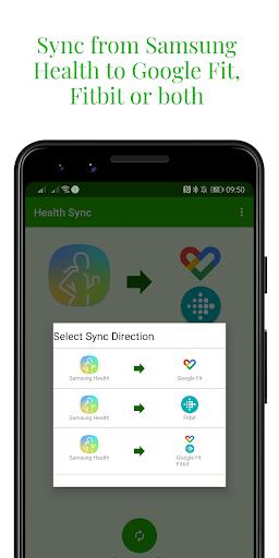 Capturas de pantalla de Health Sync 3