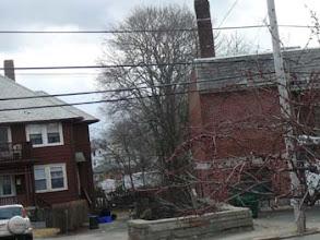 Photo: Downstream from Hancock Lot 31 Revere Rd on Left, Legion Post #95 on right Near Revere Rd & Mechanic St