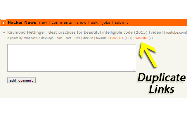 Hacker News Duplicate Detector