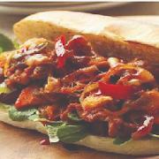 Spicy Pork K-Food Sandwich