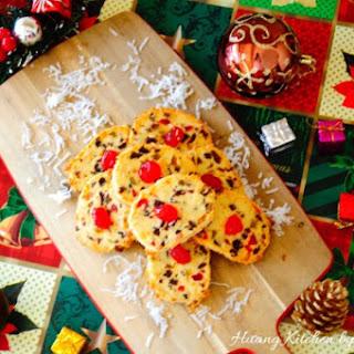 Christmas Fruitcake Cookies 圣诞水果蛋糕饼干