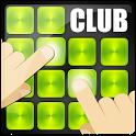 Dj electro club sound pad icon