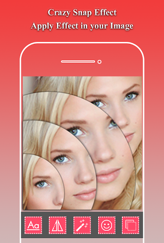 Download crazy snap magic mirror effect Slice Photo editor