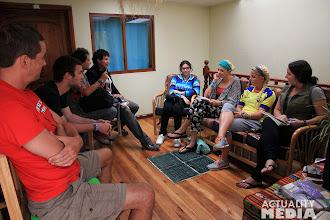 Photo: A TECHO meetup at Base Camp