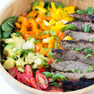 Carne Asada Flank Steak Salad Recipe