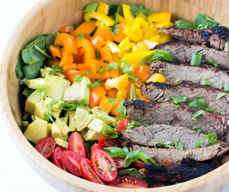 Carne Asada Flank Steak Salad Recipe