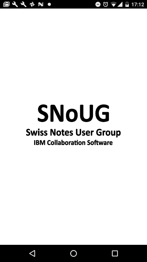 SNoUG 2017- screenshot