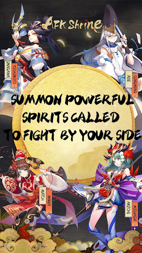 Code Triche AFK shrine: Scroll of Onmyoji  APK MOD (Astuce) screenshots 1