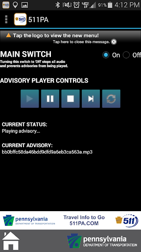 511PA screenshot