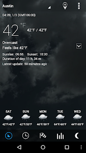 Transparent clock & weather screenshot 14
