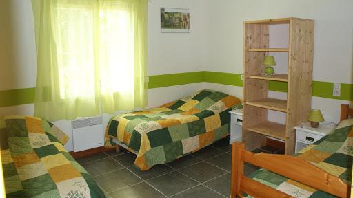 La Grange gîte accessible : chambre pour 3 à 4 personnes
