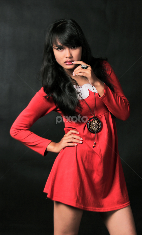 Red Pose by Ramy Moeharam - People Fashion