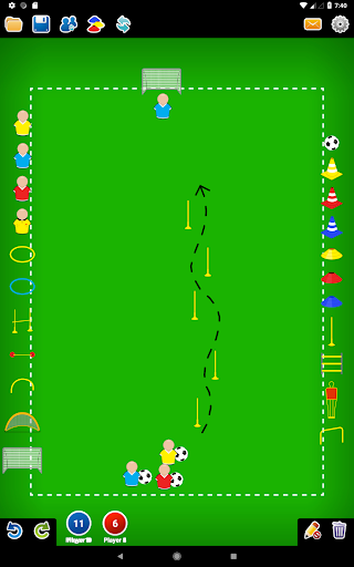 Coach Tactic Board: Soccer 1.2.2 screenshots 6
