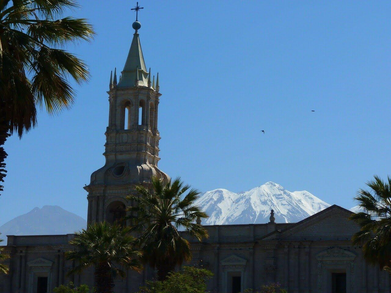 the white city of arequipa and el misti volcano one of the best places to visit in peru