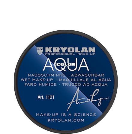 Kryolan Aqua liten 071 svart