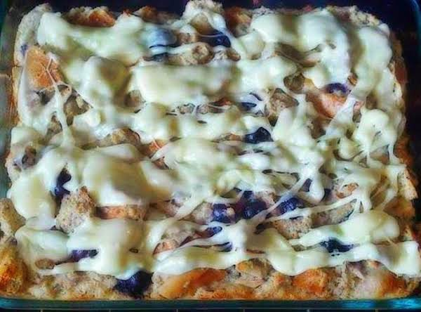 White Chocolate Blueberry Pudding Bread Recipe