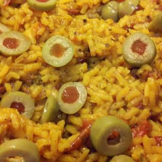 Abuelita's Spanish Rice.