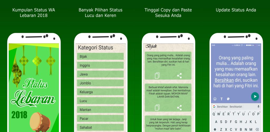 Download Status Wa Lebaran 2018 Apk Latest Version App For Android