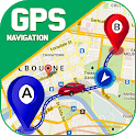 GPS Navigation Live Maps - GPS Route Finder icon