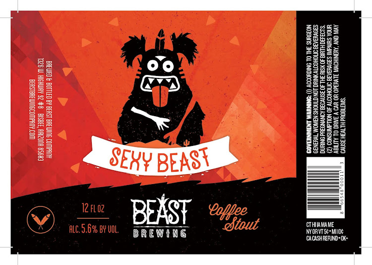 Logo of Beast Brewing Company's Sexy Beast Coffee Stout