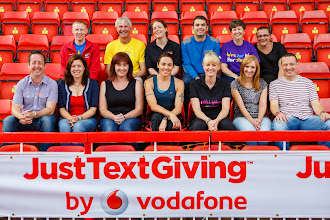 Photo: Team North meet up at Gateshead Stadium