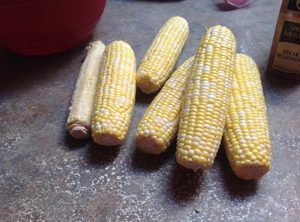 PLEASE NOTE BECAUSE I USED 6 EARS OF CORN THIS MADE A DOUBLE RECIPE,...