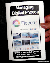 Photo: Our Picasa booklet, hot off the press.