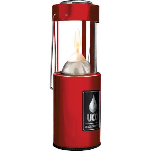 Light My Fire Original Candle Lantern: Red