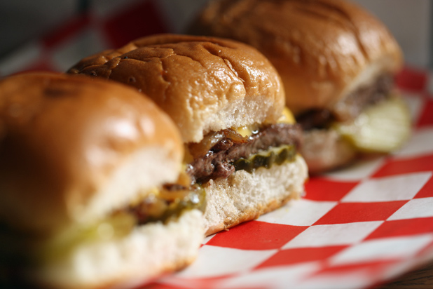 Photo: Mexican Sliders: http://www.thedailymeal.com/11-sexy-slider-recipes-slideshow#7