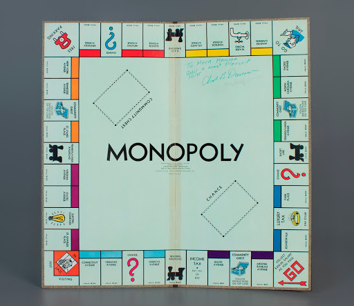 board game: Monopoly (Signed by Charles Darrow)